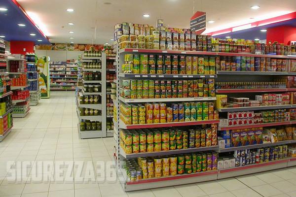Sicurezza nei supermercati